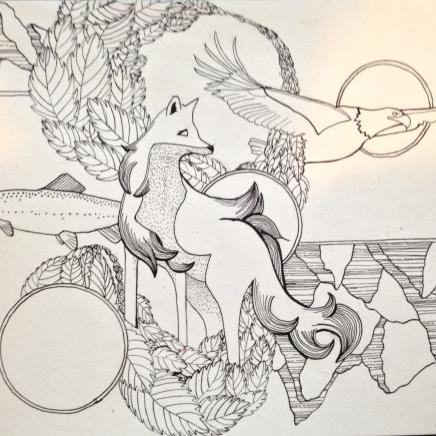 line_drawing_americana